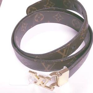 Louis Vuitton Monogram Belt